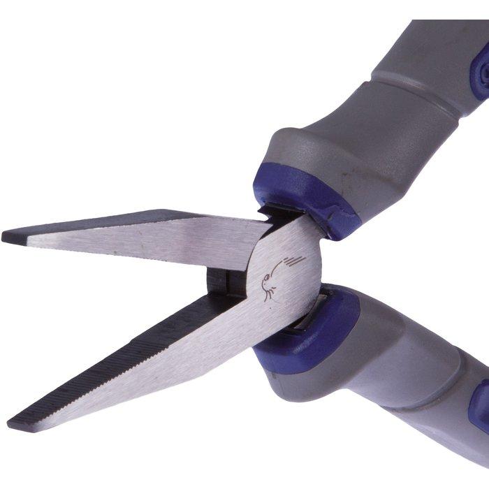 Pince à bec plat - Longueur 150 mm - Becs longs en acier-2