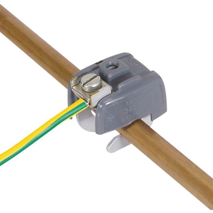 Connecteur de liaison équipotentielle - Pour mise à la terre-2