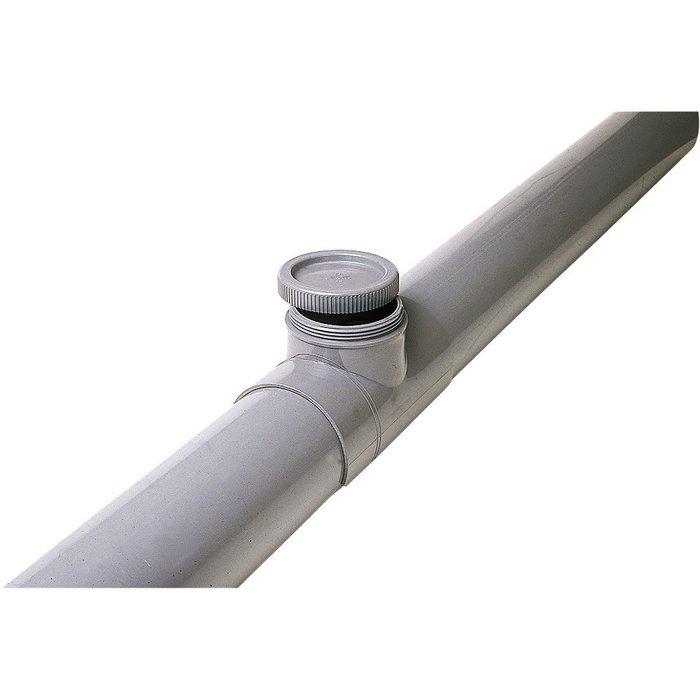 Selle de réparation à 90° pour évacuation - PVC-2