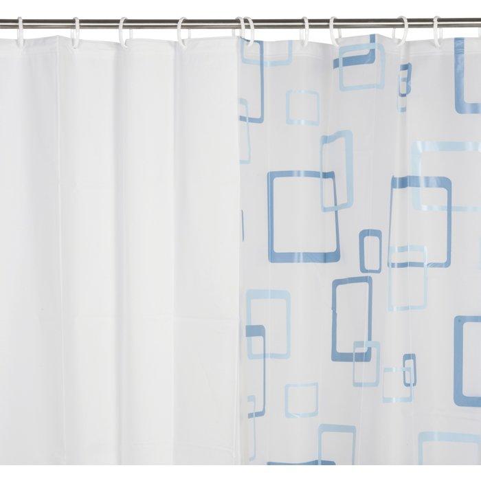 Rideau de douche PVC - À motifs-2