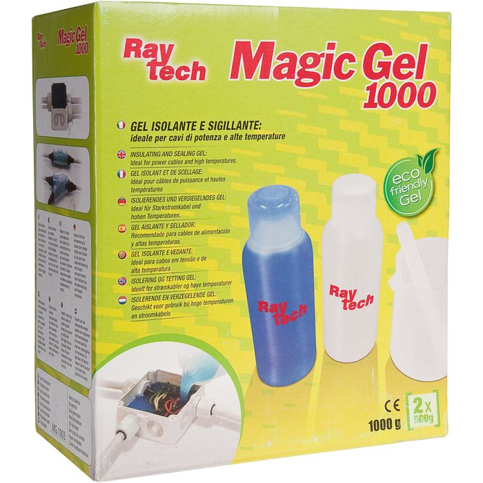 Gel isolant électrique et d'étanchéité Magic Gel - Contenance 2 x 500 mL-2
