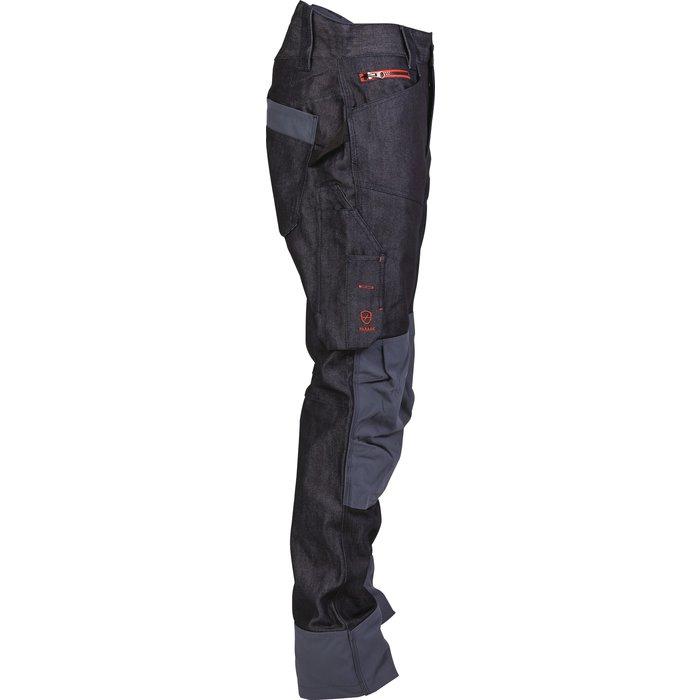 Pantalon de travail multipoches Boréal - Denim - Bleu-3