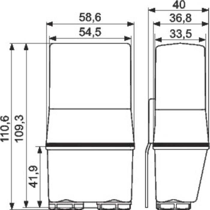 Relais crépusculaire monobloc série 10.41 - Intensité 16 A-1