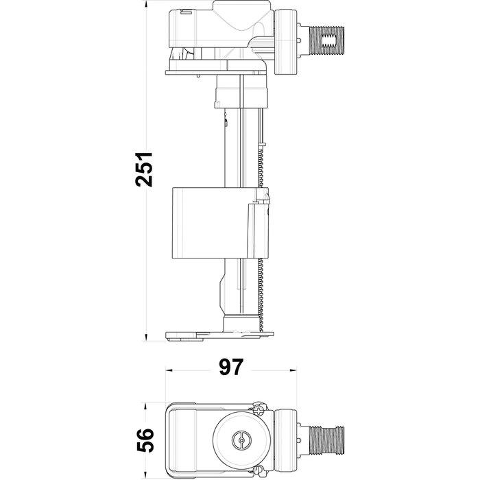Robinet flotteur ultra-silence-1