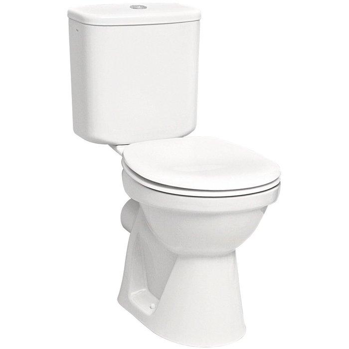 Pack WC céramique - Mécanisme 3/6 l