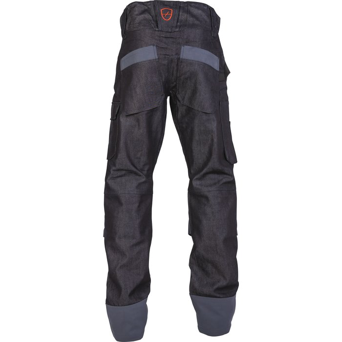 Pantalon de travail multipoches Boréal - Denim - Bleu-2