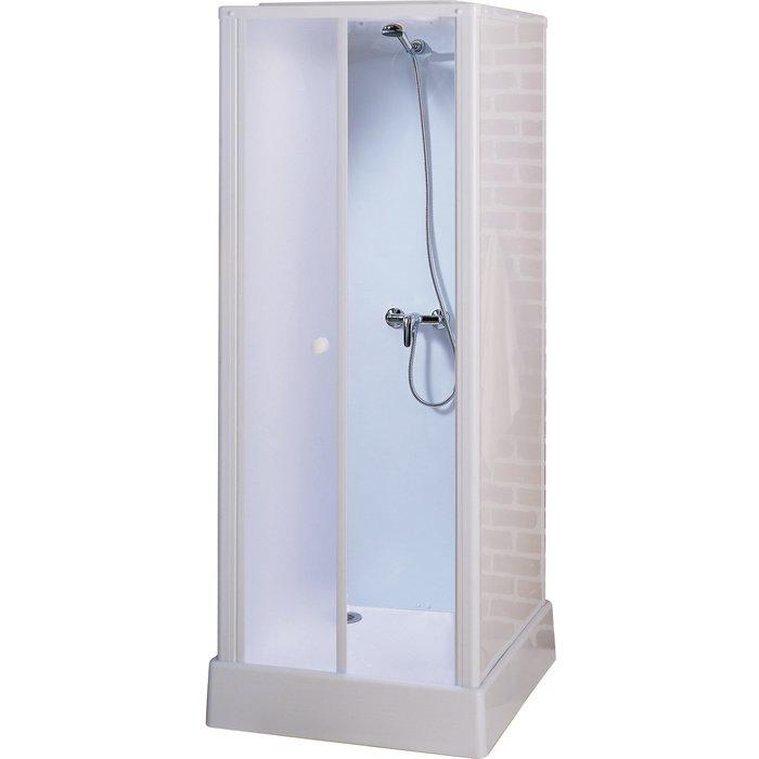 Cabine de douche Starter - Carré - Portes battantes