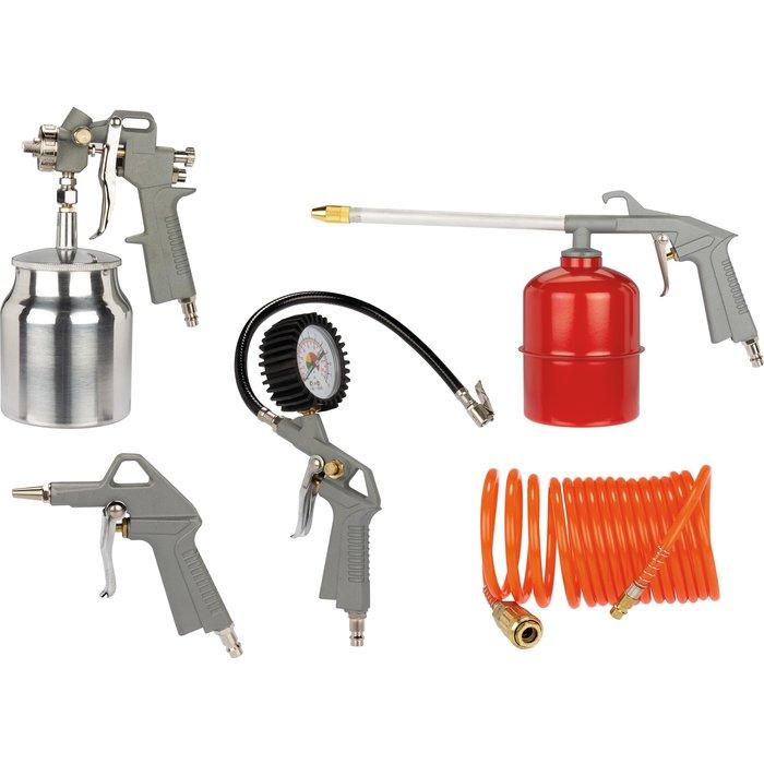 Kit 5 accessoires pour compresseur
