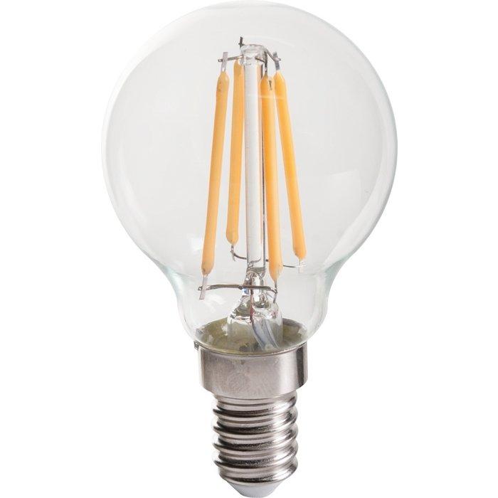 Ampoule à LED - À filament - Forme sphérique - Culot E14 - Puissance 1,9 W