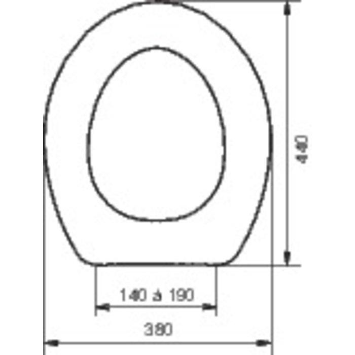 Abattant WC double TERRA  300 blanc-1