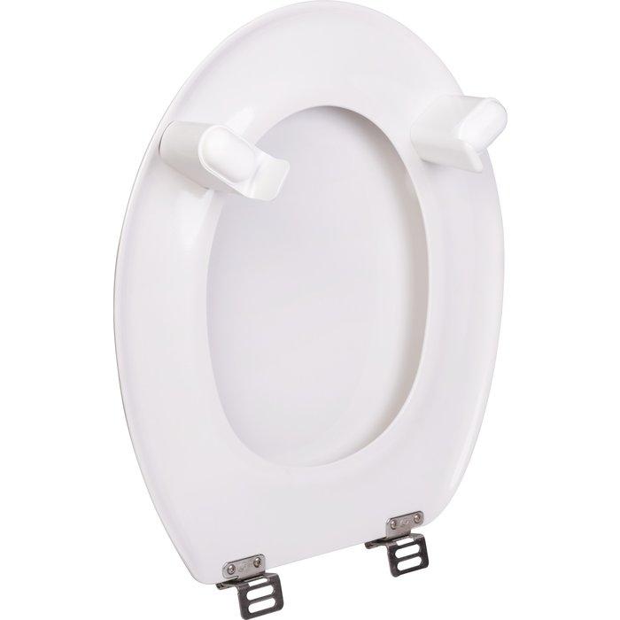 Abattant WC double rehaussé Tradition-3