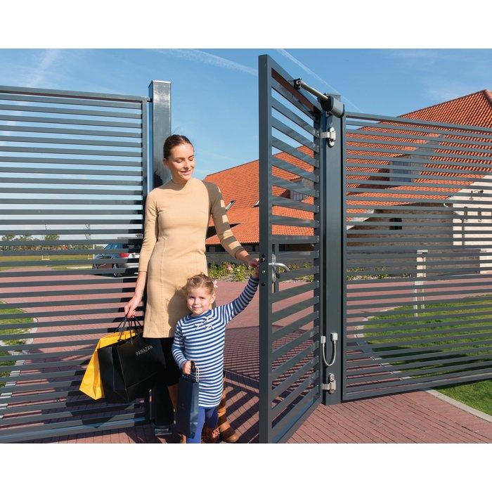 Ferme-portail hydraulique Samson-2 - Polyvalent - Largeur du portail 2 m-2