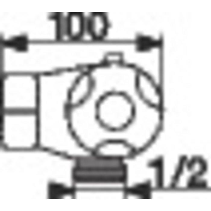 Mitigeur thermostatique douche Thermo-Azur - Spécial rénovation-2