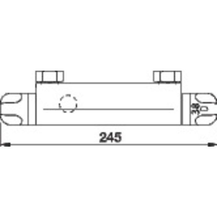 Mitigeur thermostatique douche Thermo-Azur - Spécial rénovation-1