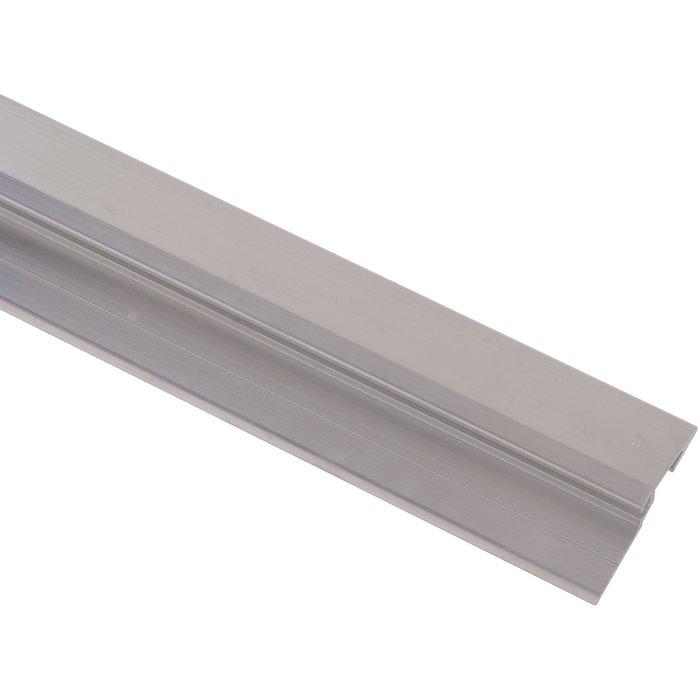 Seuil Rivinox 4111 - Pour porte extérieure - Aluminium - Longueur 4 m