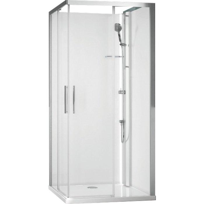 Cabine de douche Glax 1 2.0 A portes coulissantes - 90 X 90 cm