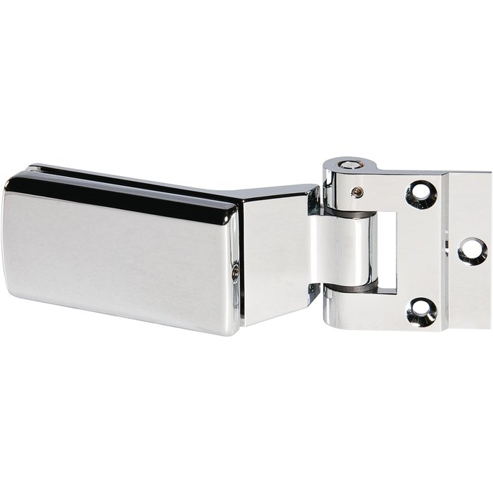 Paumelle et fiche - Série 4200 - Pour porte en verre-1