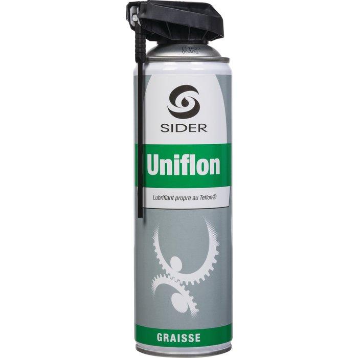Graisse au teflon Uniflon - Tête de pulvérisation Cobra - Contenance 650 ml