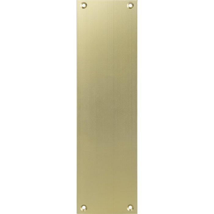 Contre-plaque pour porte palière - Aluminium