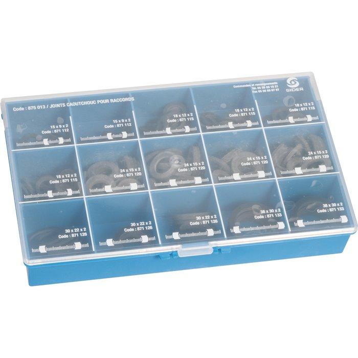 Joints caoutchouc pour raccord - Minikit de 300 pièces