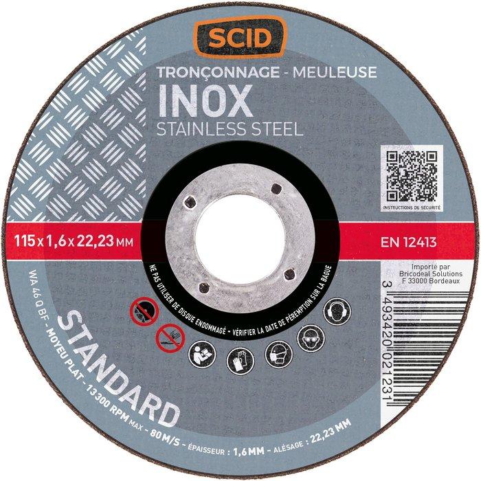 Disque à tronçonner l'inox standard-2