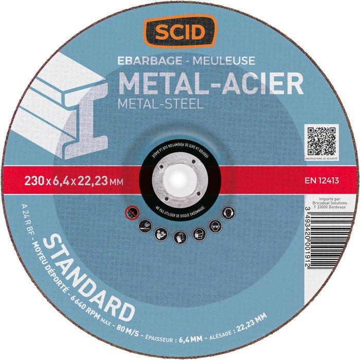 Disque à ébarber métaux standard