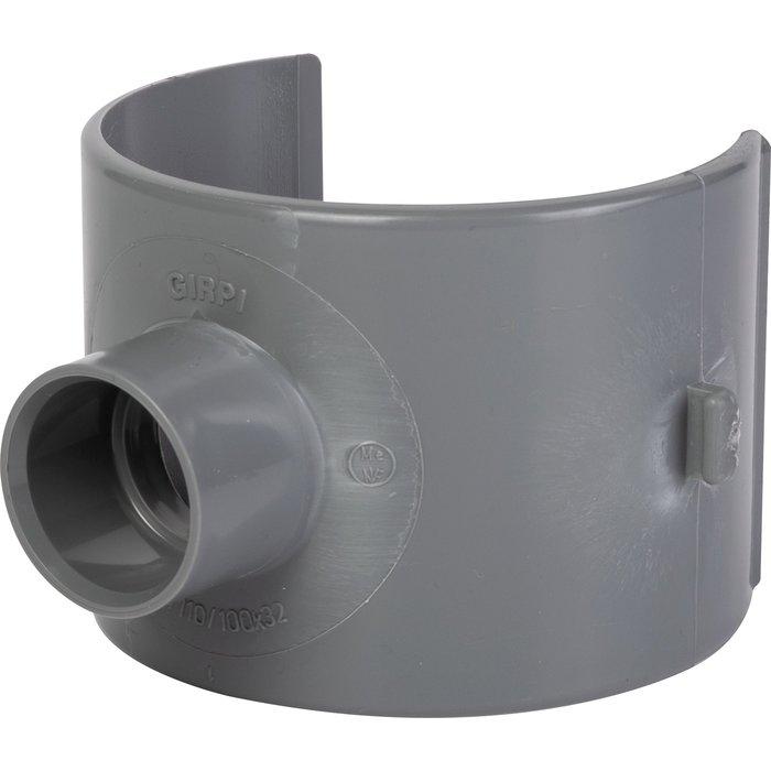Selle de branchement d'évacuation - PVC- Diamètre 80 ou 100 mm