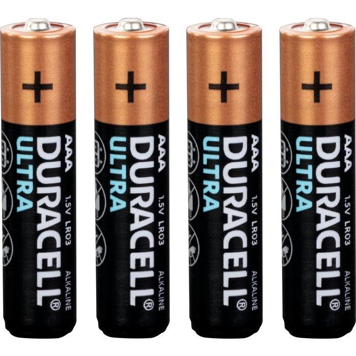 Piles Duracell Ultra - LR03 AAA