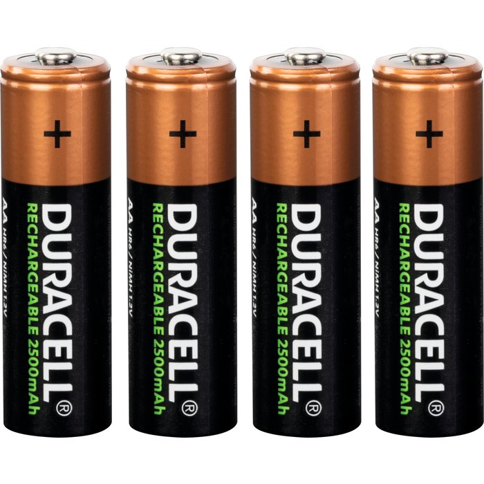 Piles AA rechargeables
