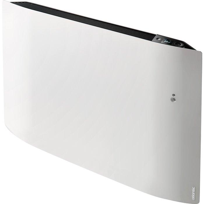 Radiateur électrique vertical à chaleur douce connecté - Divali - Longueur 430 mm
