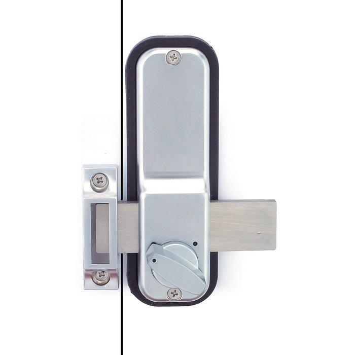 Verrou à code Jokey 900 - Mécanique - Gris métallisé