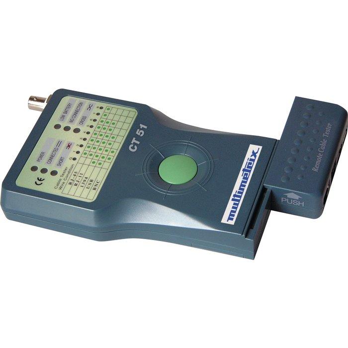 Testeur de cables informatiques et téléphoniques