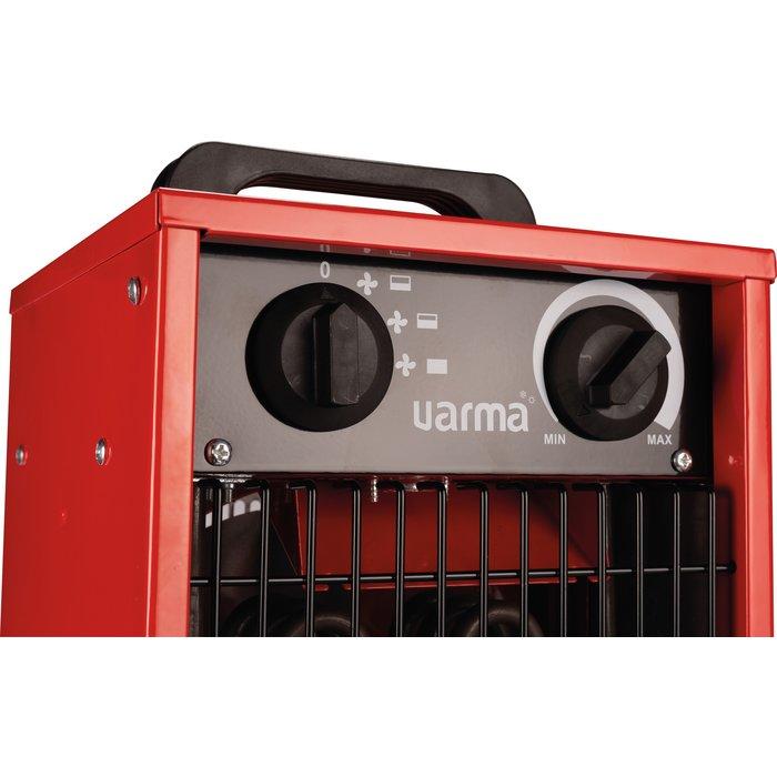 Radiateur électrique d'appoint pour chantier - Cube - Puissance 1000 / 2000 / 3000 W-4