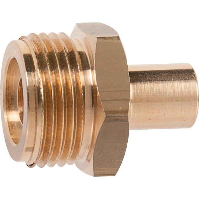 Raccord à souder - Spécial gaz butane et propane - Mâle - Filetage métrique 20 x 150 mm