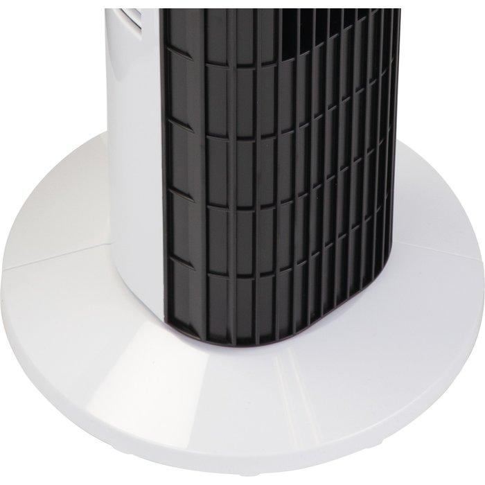 Ventilateur colonne oscillant - Puissance 40 W - Noir-9