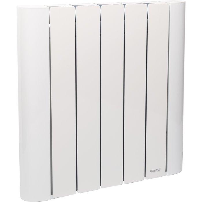 Radiateur chaleur douce à inertie sèche - Céramique - Corps aluminium