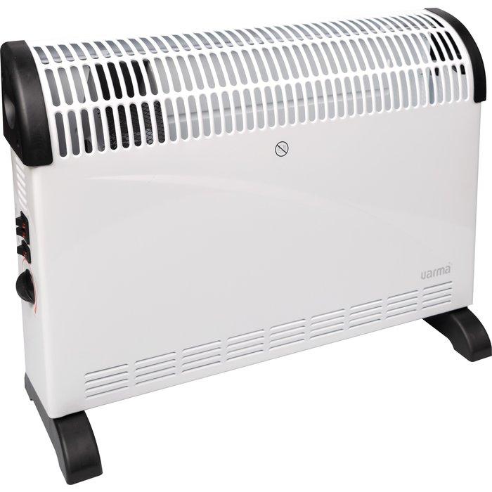 Convecteur électrique mobile - Turbo ventilation - Puissance 750 / 1250 / 2000 W