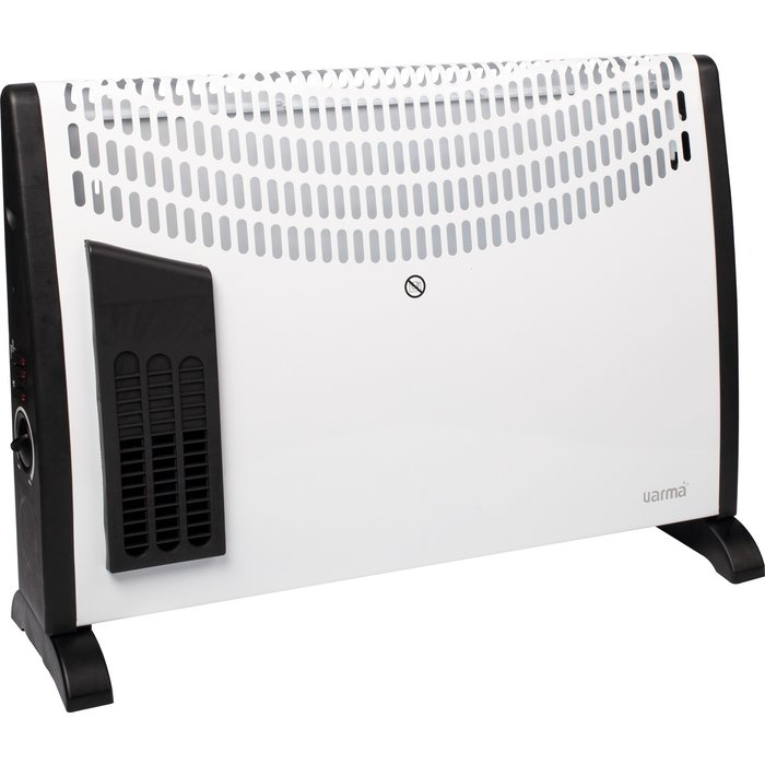 Convecteur mobile turbo ventilation en façade