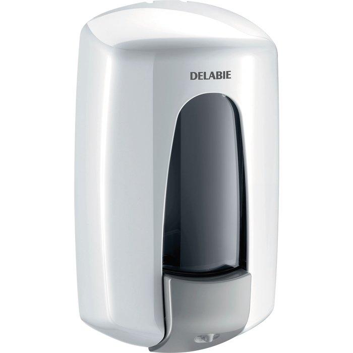 Lave-mains mural mécanique avec distributeur de savon - DELABIE