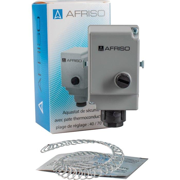 Aquastat de sécurité avec pâte thermoconductrice