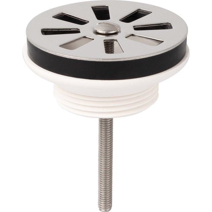 Bonde  à grille de lavabo - Plastique - Diamètre 63 mm