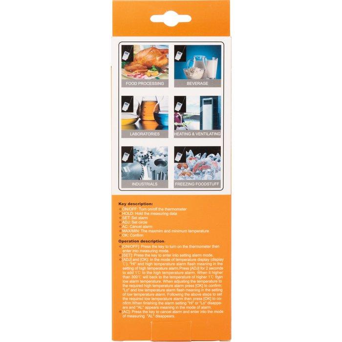Thermomètre digital portable - Mesure -50 à +300°C-3