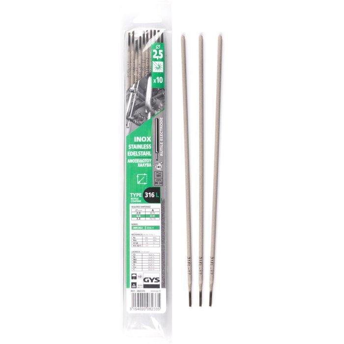 Électrode inox - Pour soudure à l'arc - Boîte de 10 pièces-3