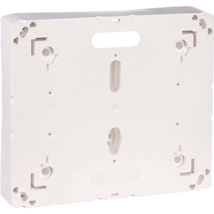 Platine pour disjoncteur de branchement - Pour coffret Drivia 13 / 18 modules-1